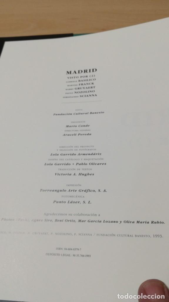 Libros de segunda mano: MADRID VISTO POR …2 - MIRADAS DEL SIGLO - VV AA - CON ESTUCHE - Foto 7 - 177979902