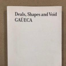 Libros de segunda mano: GAÜECA. DEALS, DHAPES AND VOID. ARTIUM 2010. CASTELLANO, EUSKERA E INGLÉS. FOTOGRAFÍA.. Lote 179239871