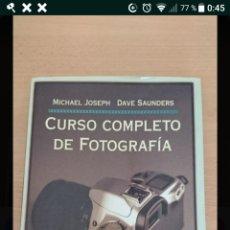 Libros de segunda mano: CURSO COMPLETO DE FOTOGRAFÍA. Lote 180210538