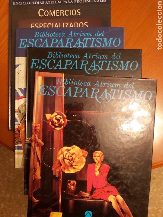 Libros de segunda mano: ENCICLOPEDIA ATRIUM DEL ESCAPARATISMO. 3 TOMOS y 1 libro COMERCIOS ESPECIALIZADOS DE REGALO. ED.1990 - Foto 2 - 180282713