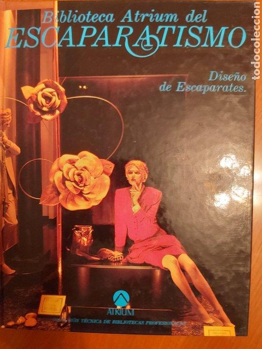 Libros de segunda mano: ENCICLOPEDIA ATRIUM DEL ESCAPARATISMO. 3 TOMOS y 1 libro COMERCIOS ESPECIALIZADOS DE REGALO. ED.1990 - Foto 3 - 180282713