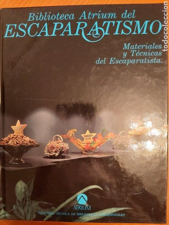 Libros de segunda mano: ENCICLOPEDIA ATRIUM DEL ESCAPARATISMO. 3 TOMOS y 1 libro COMERCIOS ESPECIALIZADOS DE REGALO. ED.1990 - Foto 11 - 180282713