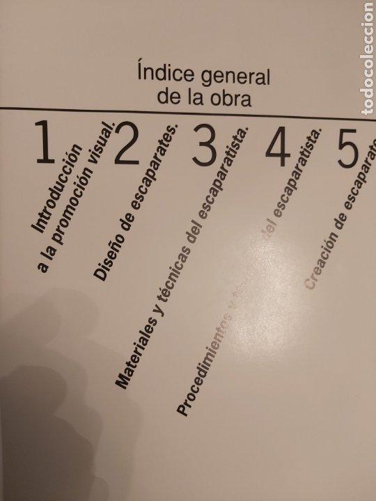 Libros de segunda mano: ENCICLOPEDIA ATRIUM DEL ESCAPARATISMO. 3 TOMOS y 1 libro COMERCIOS ESPECIALIZADOS DE REGALO. ED.1990 - Foto 12 - 180282713