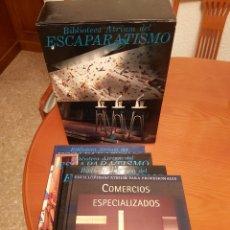 Libros de segunda mano: ENCICLOPEDIA ATRIUM DEL ESCAPARATISMO. 3 TOMOS Y 1 LIBRO COMERCIOS ESPECIALIZADOS DE REGALO. ED.1990. Lote 180282713