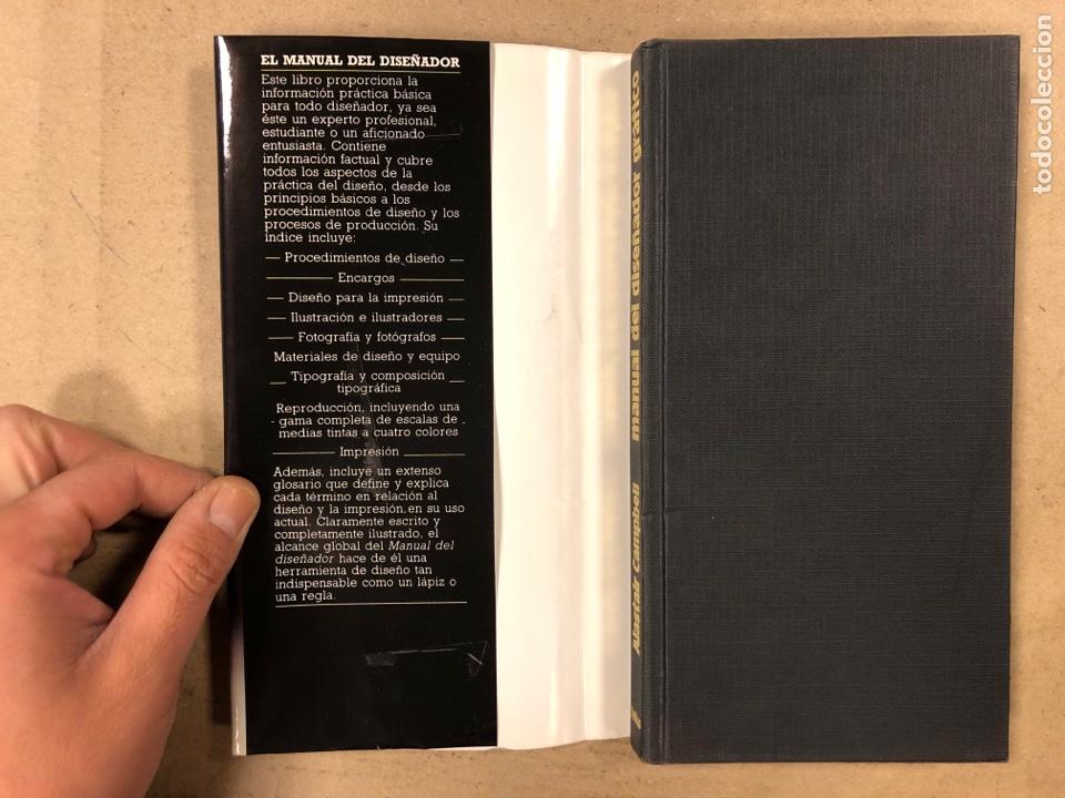 Libros de segunda mano: MANUAL DEL DISEÑADOR GRÁFICO. ALASTAIR CAMPBELL. EDITA: TELLUS 1989. ILUSTRADO - Foto 2 - 180429263