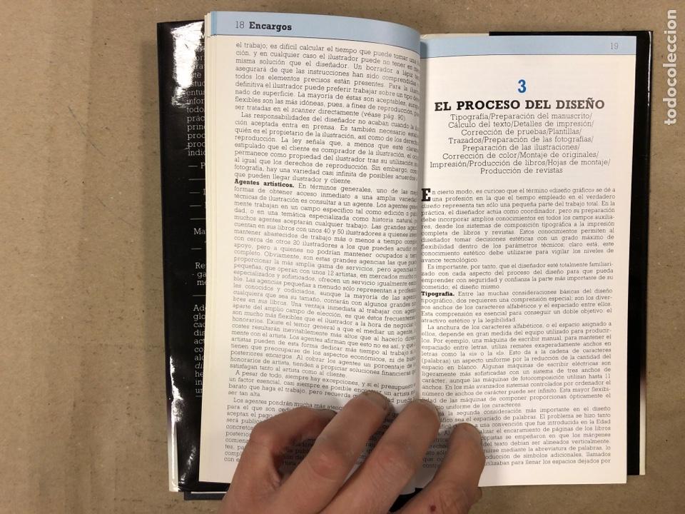 Libros de segunda mano: MANUAL DEL DISEÑADOR GRÁFICO. ALASTAIR CAMPBELL. EDITA: TELLUS 1989. ILUSTRADO - Foto 5 - 180429263