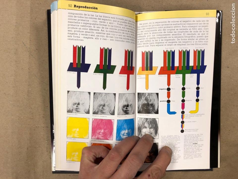 Libros de segunda mano: MANUAL DEL DISEÑADOR GRÁFICO. ALASTAIR CAMPBELL. EDITA: TELLUS 1989. ILUSTRADO - Foto 7 - 180429263
