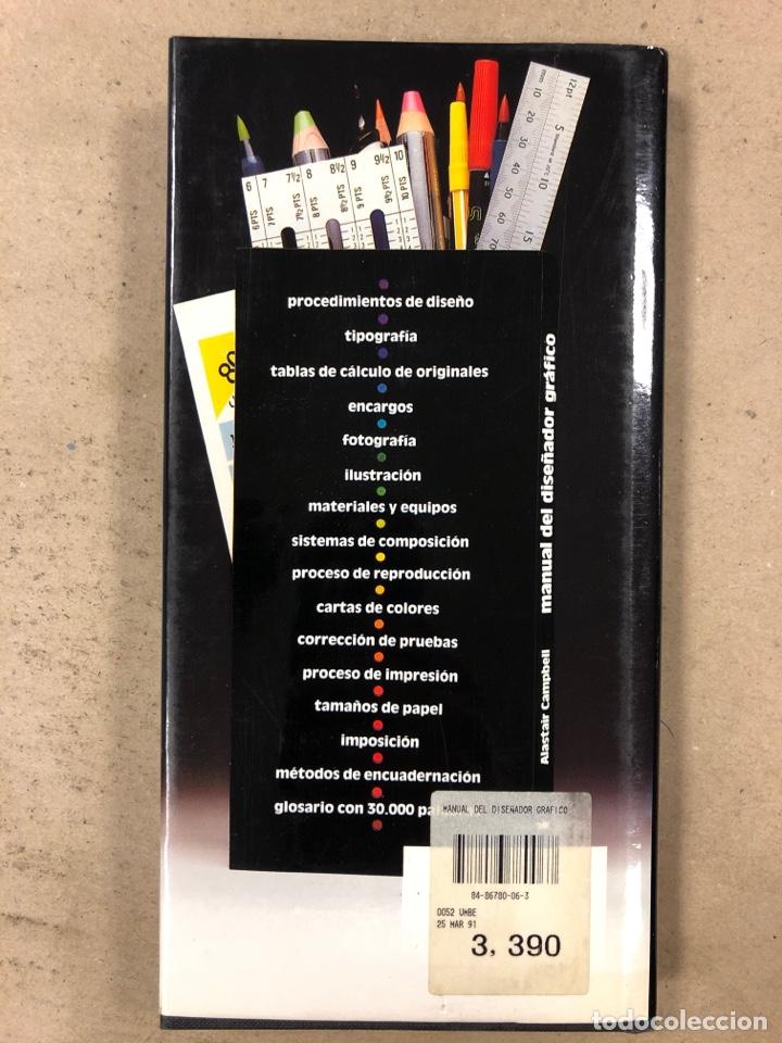 Libros de segunda mano: MANUAL DEL DISEÑADOR GRÁFICO. ALASTAIR CAMPBELL. EDITA: TELLUS 1989. ILUSTRADO - Foto 9 - 180429263