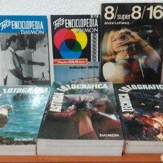 Libros de segunda mano: LOTE 6 LIBROS FOTOGRAFÍA CINE DAIMON. Lote 180925490