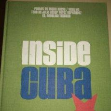 Libros de segunda mano: INSIDE CUBA. TASCHEN. PHOTOS BY GIANNI BASSO, VEGA MG. TEXTO BY JULIO CÉSAR PÉREZ HERNÁNDEZ. CARTONÉ. Lote 293976753