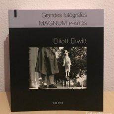 Libros de segunda mano: GRANDES FOTOGRAFOS. ELLIOTT ERWITT - 0396. Lote 182221805