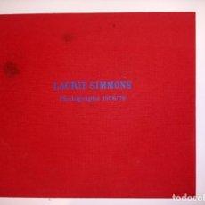 Libros de segunda mano: PHOTOGRAPHS 1978/79 - LAURIE SIMMONS - FOTOGRAFÍA. Lote 182561281
