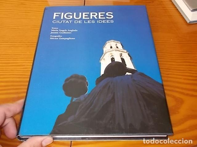 Libros de segunda mano: FIGUERES . CIUTAT DE LES IDEES . MARIA ÀNGELS ANGLADA / J. GUILLAMET. FOTOGRAFIES HÉCTOR ZAMPAGLIONE - Foto 2 - 182643431