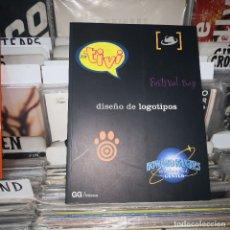 Libros de segunda mano: DISEÑO DE LOGOTIPOS,FESTIVAL BAY. Lote 182677140