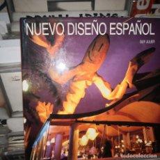 Libros de segunda mano: NUEVO DISEÑO ESPAÑOL - EDICIONES DESTINO 1991 POR GUY JULIER-INTERIORES MUEBLES . Lote 182677367