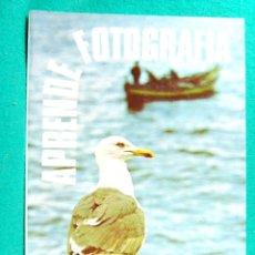 Libros de segunda mano: APRENDE FOTOGRAFIA-APRENEZ LA PHOTOGRAPHIE-ANTOINE DESILETS-ENSEÑA COMPRENDER CUALQUIER CAMARA-1979.. Lote 182886935