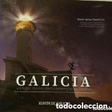 Libros de segunda mano: GALICIA, UN LUGAR MÁXICO PARA CONTEMPLAR AS ESTRELAS. OBRA FOTOGRÁFICA DE DANIEL LLAMAS/ DANIEL LOIS. Lote 183379655