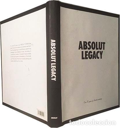 ABSOLUT LEGACY (OVER 30 YEARS OF ABSOLUT CREATIVITY) ABSOLUT VODKA. MARKETING. DISEÑO (Libros de Segunda Mano - Bellas artes, ocio y coleccionismo - Diseño y Fotografía)
