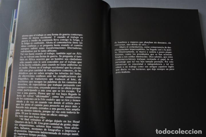 Libros de segunda mano: Mutación. Roberto Faidutti y Alberto Moravia. Ed. Iveco. Roma 1978 - Roberto Faidutti y Alberto Mora - Foto 4 - 183815250