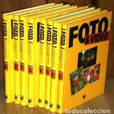Libros de segunda mano: FOTO & VIDEO: ENCICLOPEDIA PRÁCTICA DE LA IMAGEN 8T POR VARIOS AUTORES DE ED. RBA EN BARCELONA 1992 . Lote 183840371