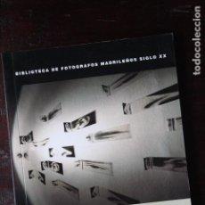 Libros de segunda mano: DANIEL CANOGAR, BIBLIOTECA DE FOTÓGRAFOS MADRILEÑOS. OBRA SOCIAL - CAJA MADRID, 1998. Lote 183929787