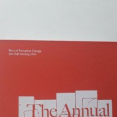 Libros de segunda mano: THE ANNUAL OF ANNUALS: BEST OF EUROPEAN DESIGN AND ADVERTISING 2005 - VV.AA.. Lote 184705565