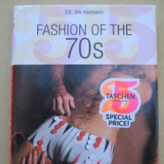Libros de segunda mano: FASHION OF THE 70S. VINTAGE FASHION AND BEAUTY ADDS, JIM HEIMANN. Lote 184691805
