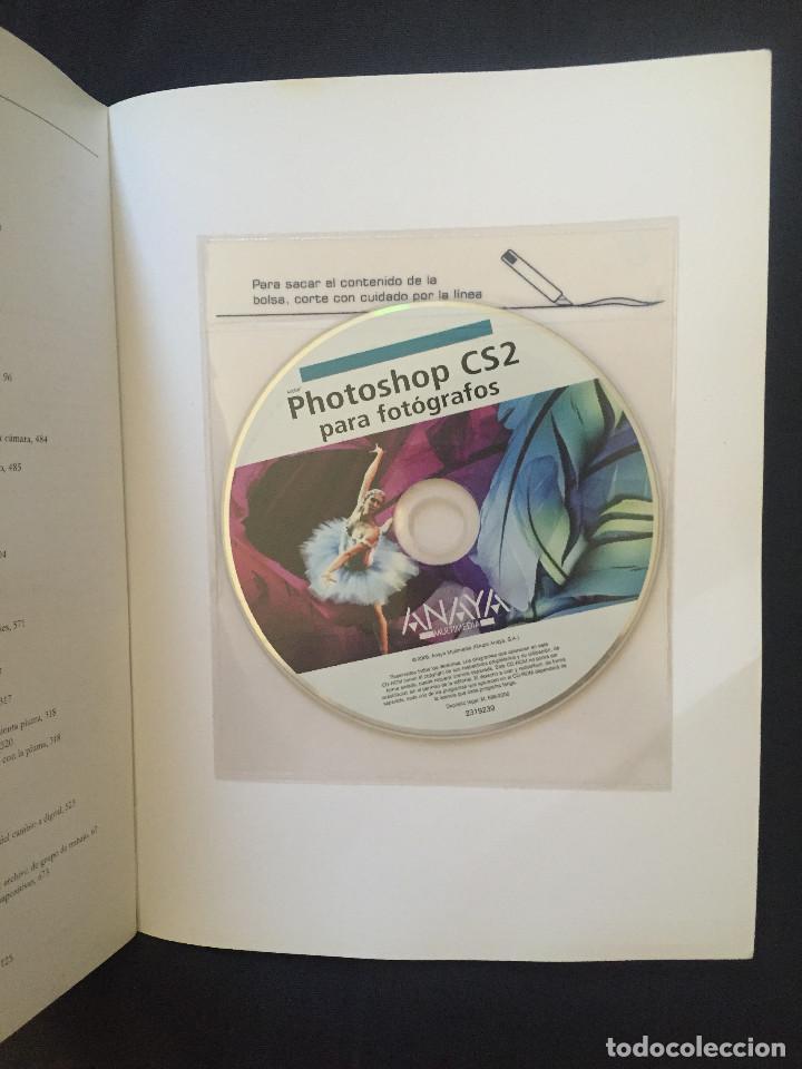 Libros de segunda mano: PHOTOSHOP CS2 PARA FOTÓGRAFOS - MARTIN EVENING -CD - Foto 2 - 188415667