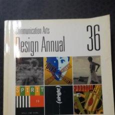 Libros de segunda mano: LIBRO - COMUNICATION ARTS DESIGN ANNUAL - 36 - COYNE & BLANCHARD 1995. Lote 188441460