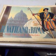 Libros de segunda mano: IL VATICANO E ROMA. Lote 188467423