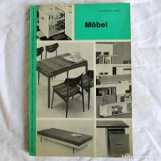 Libros de segunda mano: MÖBEL, SO WOHNEN BAND 5 STUTTGART 1961. Lote 190349347