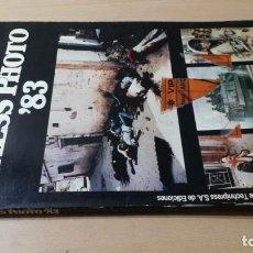 Livres d'occasion: WORLD PRESS PHOTO 83 - LAS MEJORES FOTOS DE PRENSA DEL MUNDO/ J 504. Lote 191023068