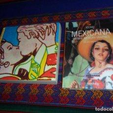 Libros de segunda mano: SENSACIONAL DE DISEÑO MEXICANO TRILCE EDICIONES 2002, MEXICANA VINTAGE MEXICAN GRAPHICS ICONS 2002.. Lote 191329512