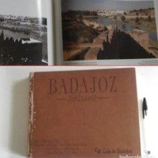 Libros de segunda mano: BADAJOZ INOLVIDABLE LIBRO DE FOTOGRAFÍAS HISTORIA EXTREMADURA ESPAÑA FOTOS ANTIGUAS Y ACTUALES ARTE. Lote 191495176