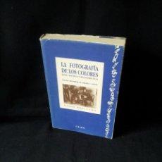 Libros de segunda mano: SANTIAGO RAMON Y CAJAL - LA FOTOGRAFIA DE LOS COLORES, BASES CIENTIFICAS Y REGLAS PRACTICAS . Lote 192302088
