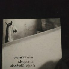 Libros de segunda mano: PASEO POR LA LEJANÍA. LOS ESTRECHOS PASOS DE LA MEMORIA. TEXTO ESPAÑOL Y PORTUGUÉS. BADAJOZ.. Lote 193115555