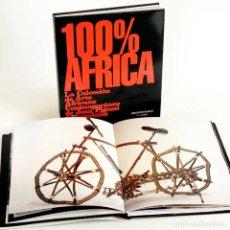 Libros de segunda mano: 100% AFRICA. ARTE AFRICANO CONTEMPORÁNEO. GUGGENHEIM. Lote 193549756