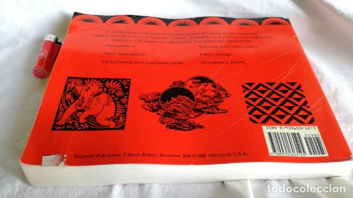 Libros de segunda mano: VISUAL ELEMENTS - 4 - WORLD TRADITIONAL FOLK PATTERNS - ROCKPORT PUBLISHERS - USA - Foto 2 - 194219585