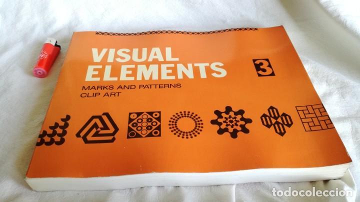 VISUAL ELEMENTS - 3 - MARKS AND PATTERNS CLIP ART - ROCKPORT PUBLISHERS - USA (Libros de Segunda Mano - Bellas artes, ocio y coleccionismo - Diseño y Fotografía)