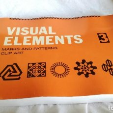 Libros de segunda mano: VISUAL ELEMENTS - 3 - MARKS AND PATTERNS CLIP ART - ROCKPORT PUBLISHERS - USA. Lote 194219737
