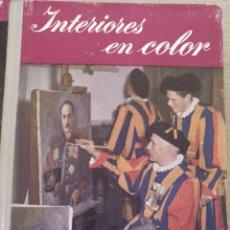 Libros de segunda mano: INTERIORES EN COLOR. - WELLS, GEORGE.. Lote 194369468