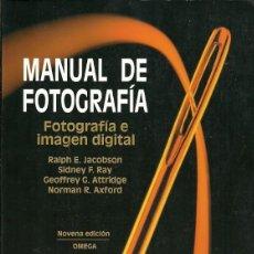 Libros de segunda mano: MANUAL DE FOTOGRAFIA FOTOGRAFIA E IMAGEN DIGITAL RALPH E JACOBSON . Lote 194650740