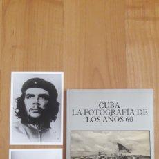 Libros de segunda mano: CUBA, LA FOROGRAFIA DE LOS AÑOS 60. INCLUYE DOS REPRODUCCIONES FOTOGRÁFICAS. Lote 194691775