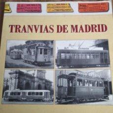 Libros de segunda mano: TRANVIAS DE MADRID. Lote 194877993