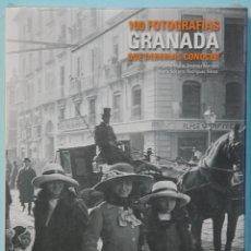Libros de segunda mano: LMV - 100 FOTOGRAFIAS QUE DEBERIAS CONOCER. GRANADA. VV.AA. EDITORIAL LUMWERG. 2012. Lote 194960061