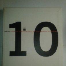 Libros de segunda mano: 10 JAHRE KUNST -UND AUSSTELLUNGSHALLE DER BUNDESREPUBLIK DEUTSCHLAND 1992 - 2002 BUNDESKUNSTHALLE.DE. Lote 195031683
