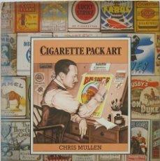 Libros de segunda mano: CHRIS MULLEN. CIGARETTE PACK ART. 1979. Lote 195159521