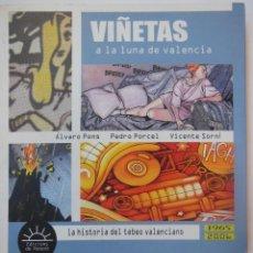 Libros de segunda mano: VIÑETAS A LA LUNA DE VALENCIA. LA HISTORIA DEL TEBEO VALENCIANO 1965 - 2006. Lote 195165331