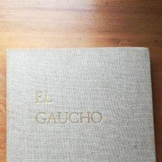 Libros de segunda mano: EL GAUCHO FOTOGRAFIAS DE RENE BURRI MUCHNIK 1968 BUENOS AIRES. Lote 195173128