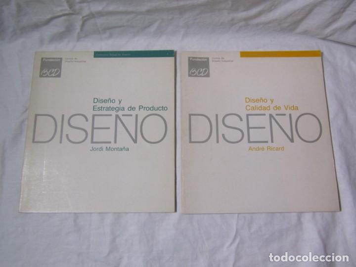 Libros de segunda mano: Diseño y estrategia de producto + Diseño y calidad de vida, J. Montaña y A. Ricard - Foto 2 - 195333243